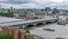 View of London's Blackfriars Bridge