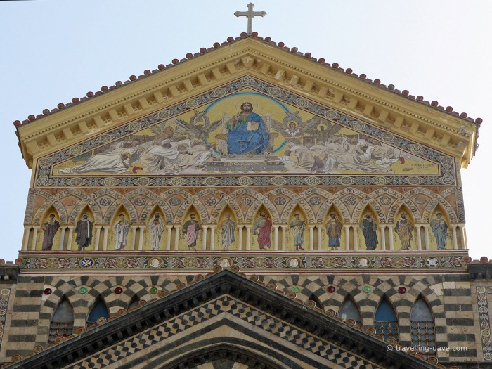 View of the Amalfi Cathedral mosaics