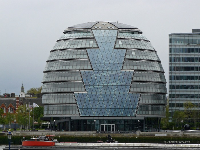 View of London City Hall