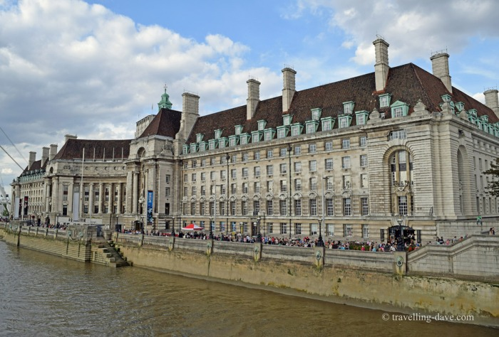 View of London's County Hall