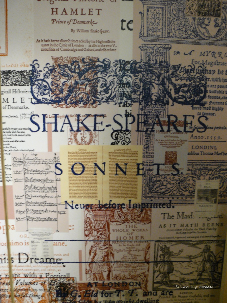 Shakespeare's Sonnets at the Globe Theatre