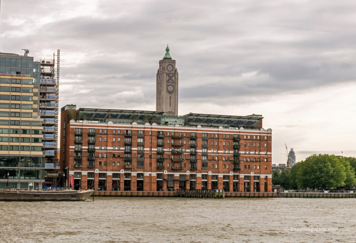 View of London's OXO Tower