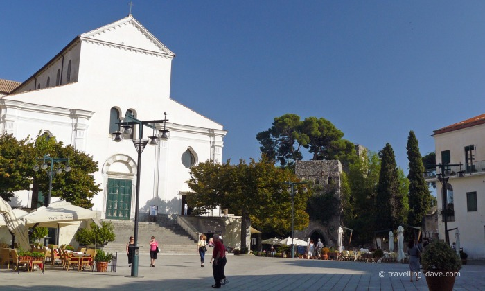 View of Ravello cathedral