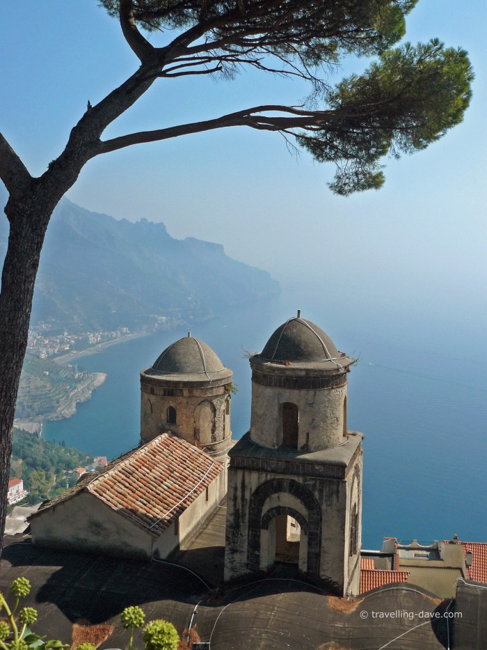 View of Ravello's Church of the Annunciation