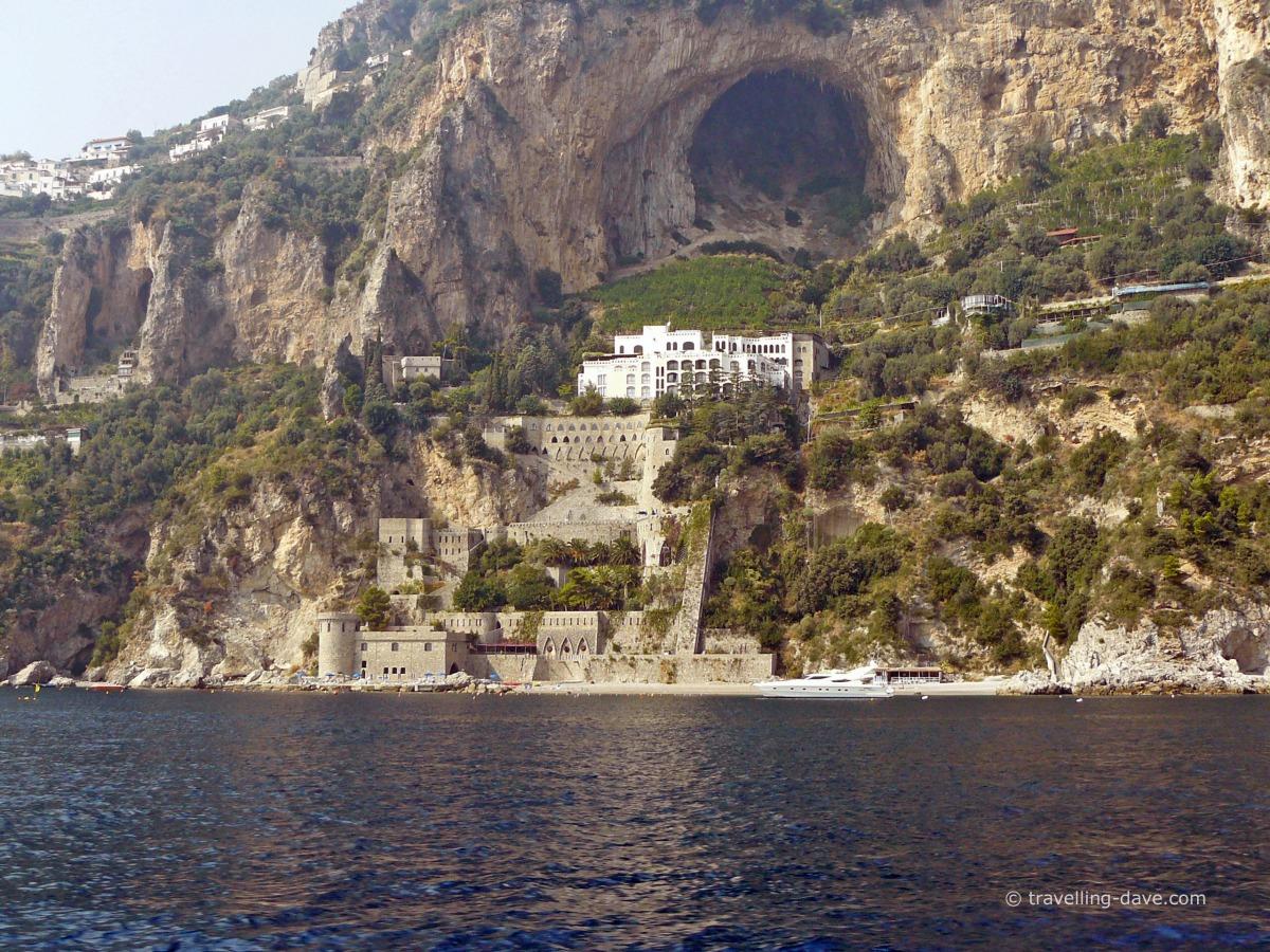 Sea view of the Amalfi Coast