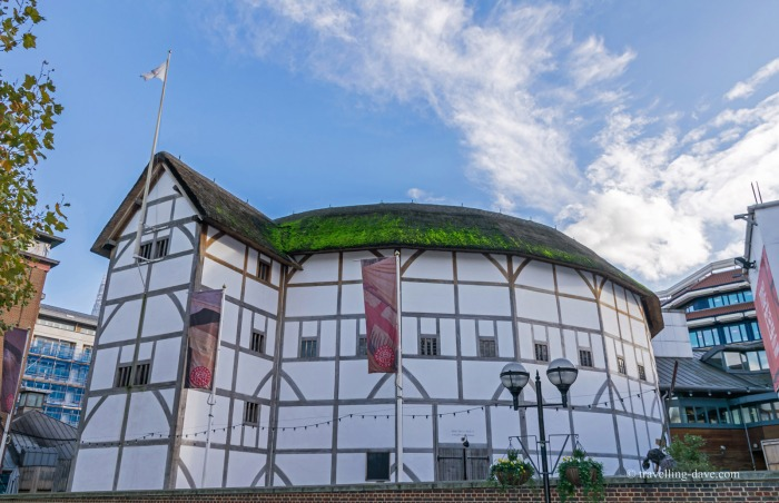 View of the Globe Theatre