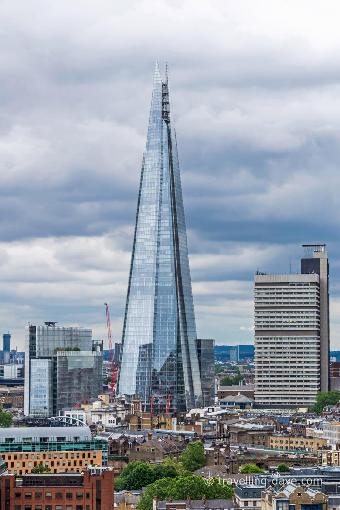 View of London's Shard