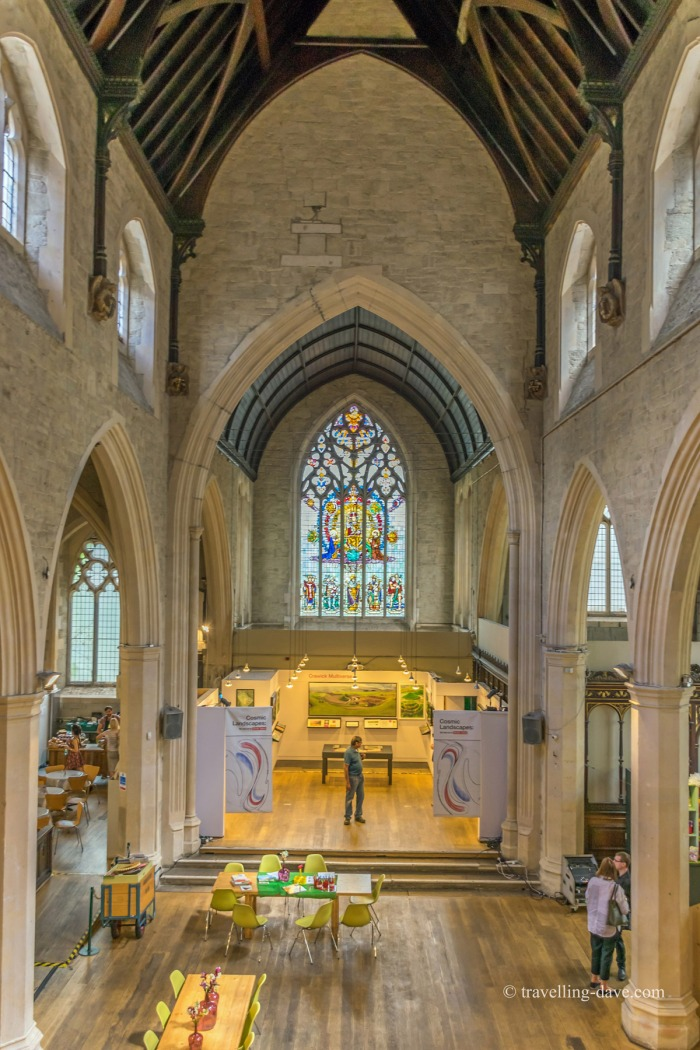 View of St Mary-at-Lambeth interior
