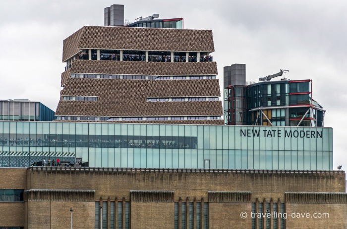 View of Tate Modern's Switch House
