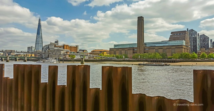 View of London's Tate Modern