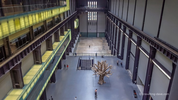 View of Tate Modern's Turbine Hall