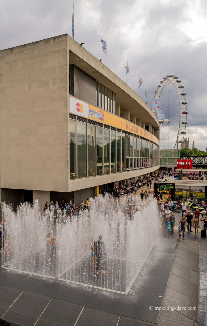 View of London's Southbank Centre