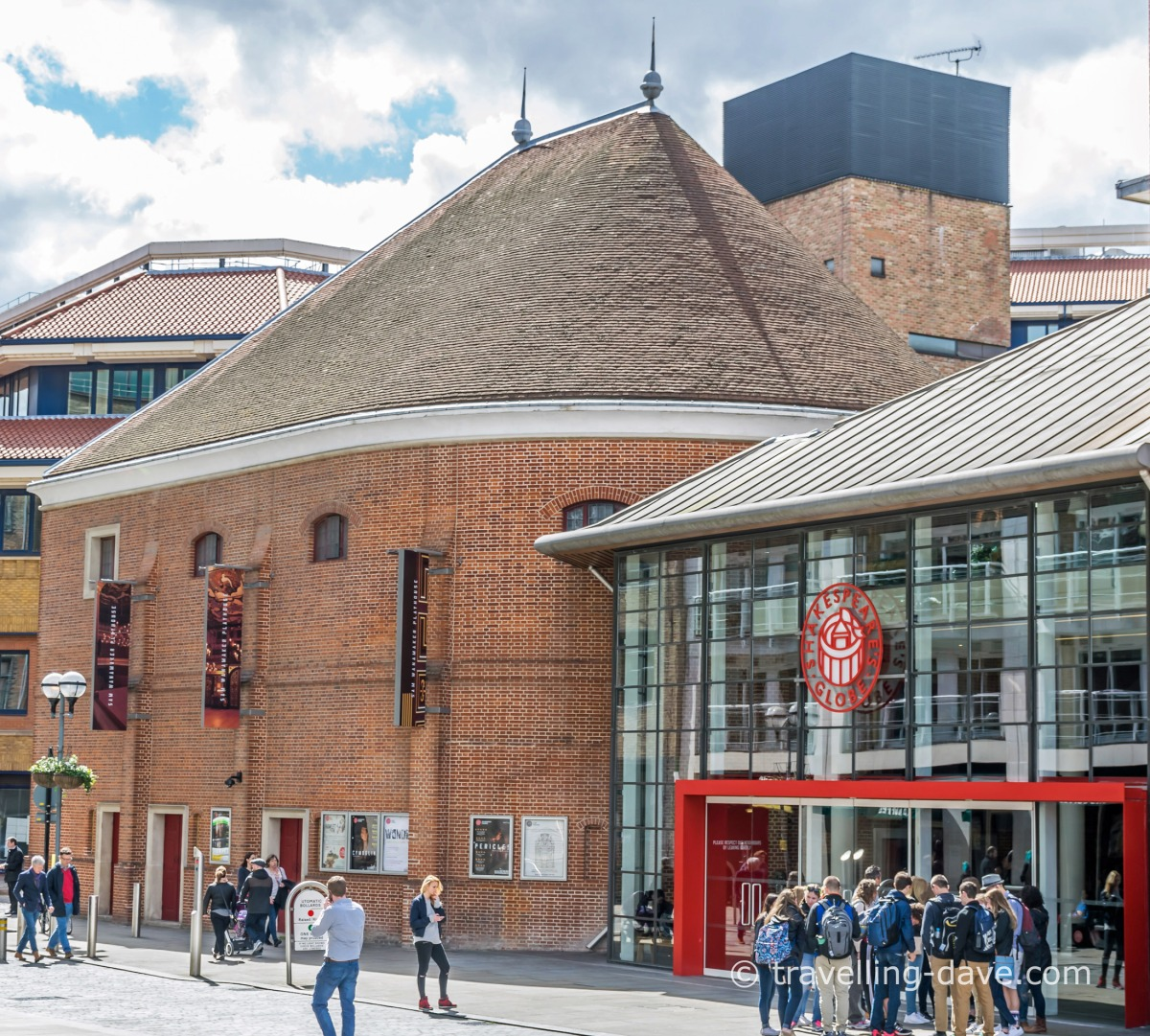 View of London's Wanamaker Playhouse