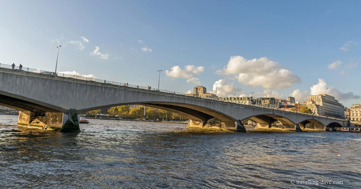 View of London's Waterloo Bridge