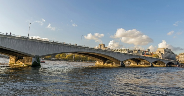 View of London's Waterloo Bridge