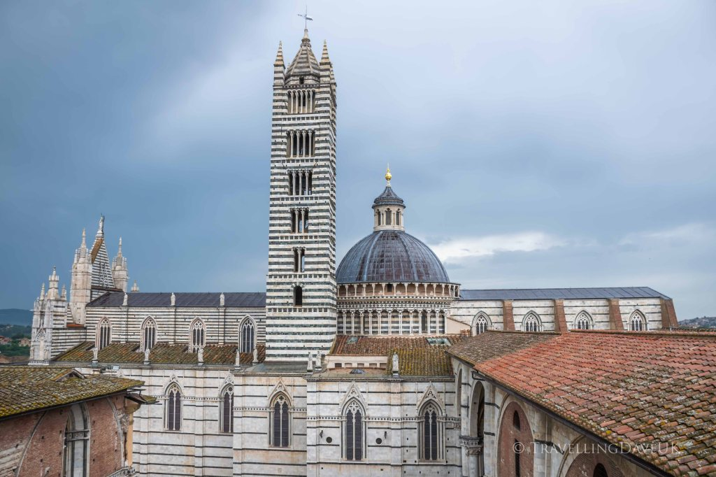 View of Siena Cathedral in Italy